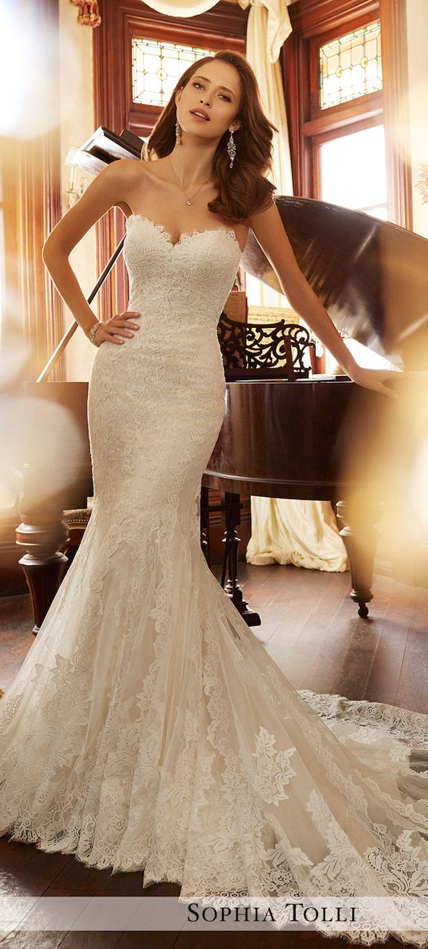 Wedding Trends Dropped Waistline Bridal Gowns Wedding