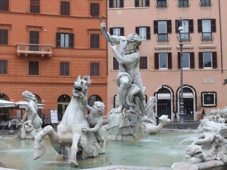 Piazza Navona, Roma.