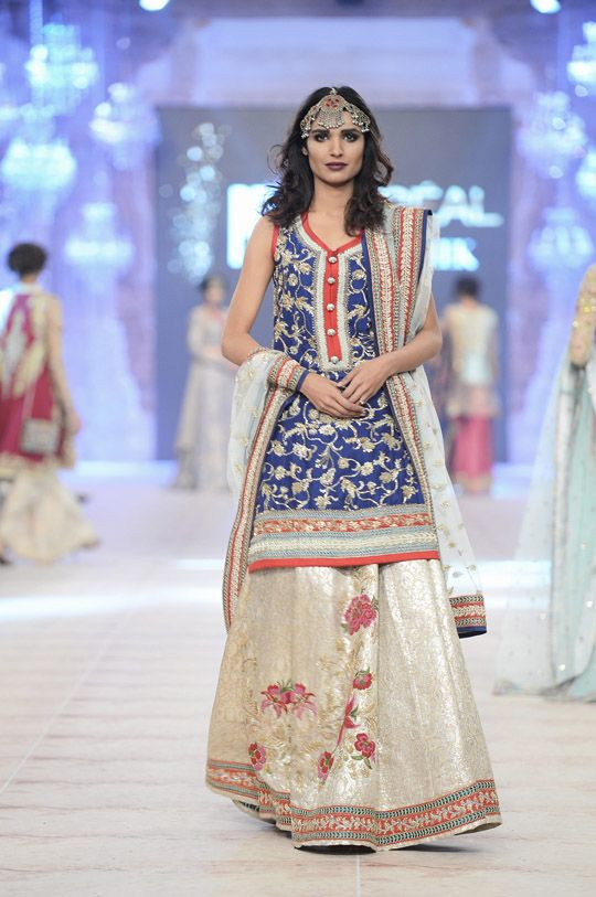 'The Folk Tale' 2014-15 Collection by Zara Shahjahan https://www.facebook.com/zarashahjahan #Pakistan @ #PLBW2014