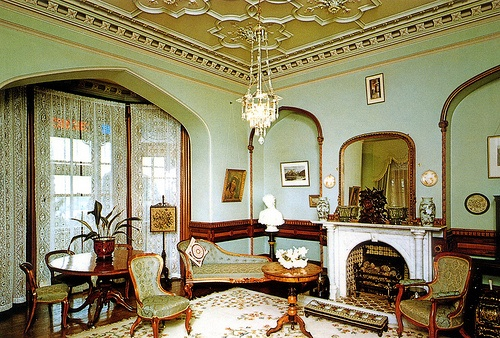Larnach Castle drawing room