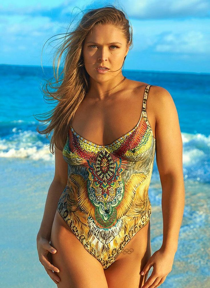 Ronda Rousey Makes the Internet Explode with Her Naked