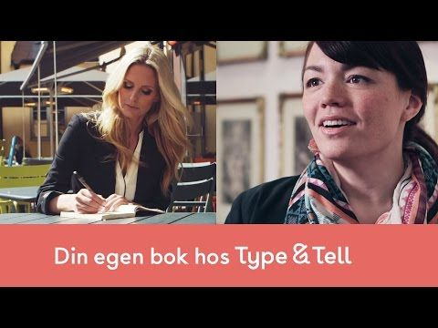 Självpublicering via Bonnierförlagen - Type & Tell