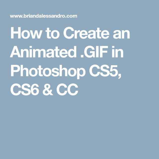 Best 25 create gif in photoshop ideas on pinterest create gif how to create an animated f in photoshop cs5 cs6 cc negle Images
