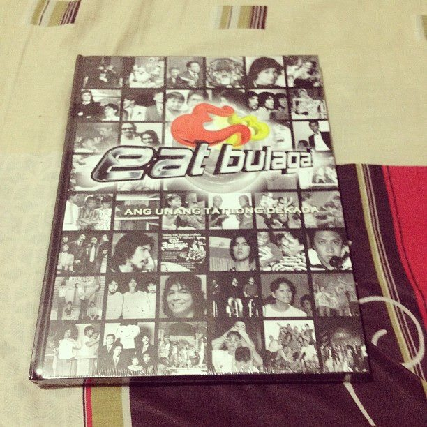 Eat Bulaga Coffee Table Book..   My Favorite Noontime Show Since I Was A