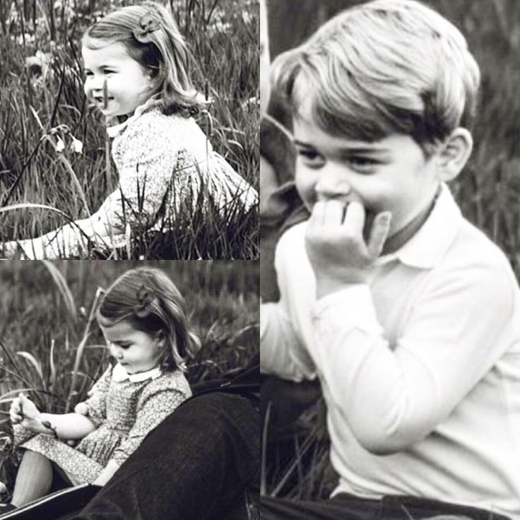 """The family pictures happened by accident, as both Prince George and Princess Charlotte were more than intrigued by the circus unfolding around their father"" . . ➖ GQ Editor Dylan Jones about the exclusive interview Prince William gave to his magazine. via ✨ @padgram ✨(http://dl.padgram.com)"