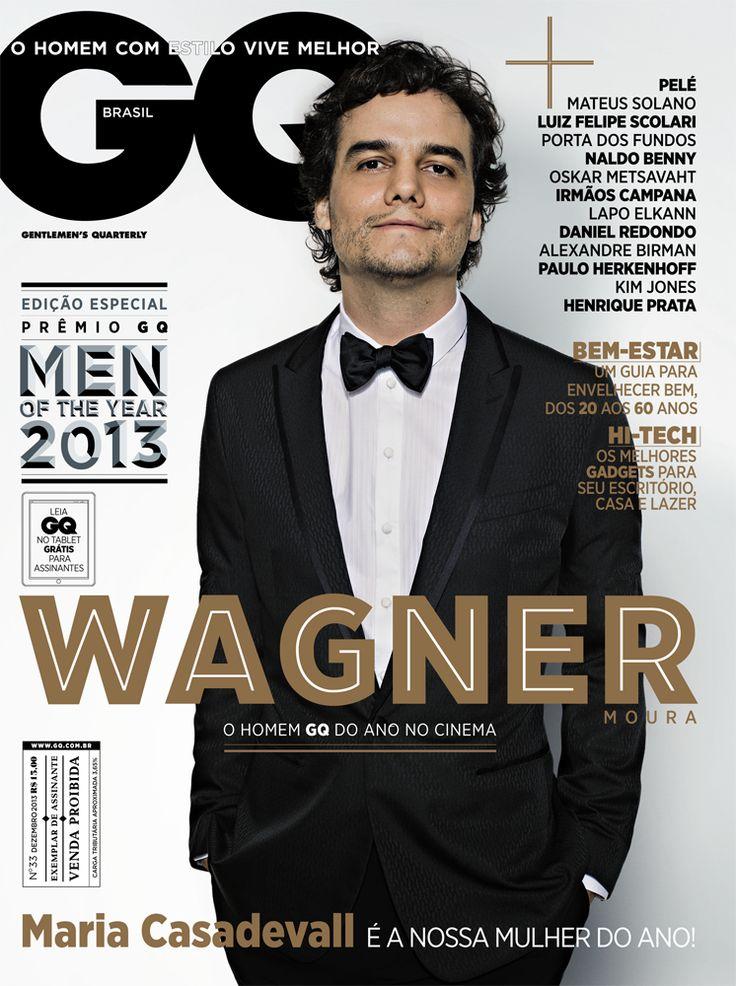 Wagner Moura é destaque do cinema no Men of the Year - DEZEMBRO 2013