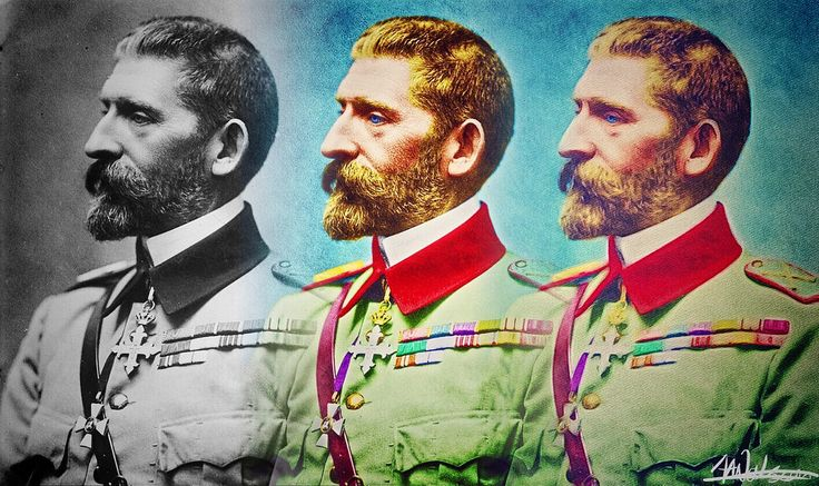https://flic.kr/p/C6agpb   Ferdinand I of Romania   The colours are are all guess work