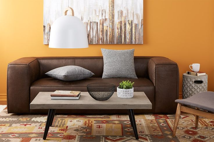 This summer, surround yourself with beautiful furniture combining clean lines and strong materials like wood, steel and concrete. Handpick a few whimsical or classical accessories with just the right touch of daring to add throughout the home. Set the tone with a rich, enveloping colour palette that evokes summer harvest, bursting sunshine or luxuriant foliage at its peak.