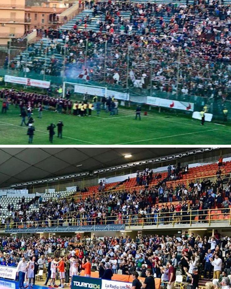 """@reggina_1914_ufficiale e @violareggiocalabria salve! Complimenti alle società ai giocatori e ai tifosi.  La """"salvezza"""" di questa città passa anche dallo sport! #reggiocalabria #lnp #legapro #sport"""