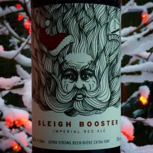 Sleigh Booster - The Beer You Shoulda Left Out for Santa