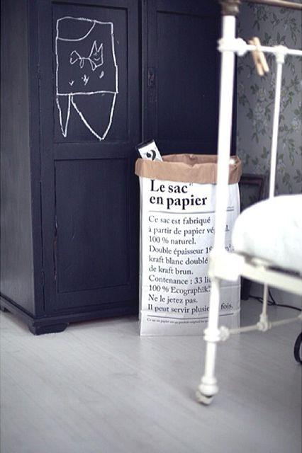 Le sac en papier - papirposen som kan brukes til alt! Kan kjøpes på www.multitrend.no - gratis frakt.