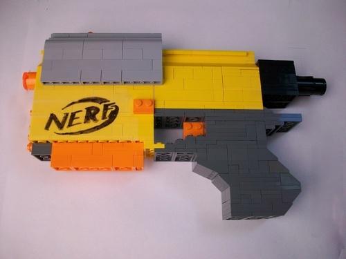 1000 Ideas About Lego Guns On Pinterest Lego Minifigure