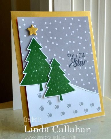 Stampin' Seasons: Stamp Review Crew: Foxy Friends, Linda Callahan, Foxy Friends stamp set, Fox builder punch,  Stampin' Up!, Stamp Review Crew