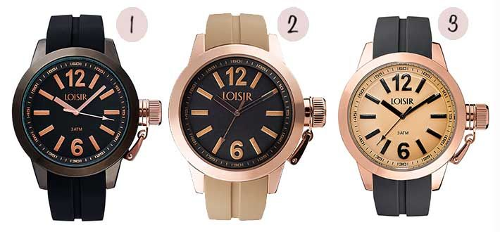 Grote horloges met herfstkleuren. Bekijk dé horlogetrend voor in de herfst op onze blog...