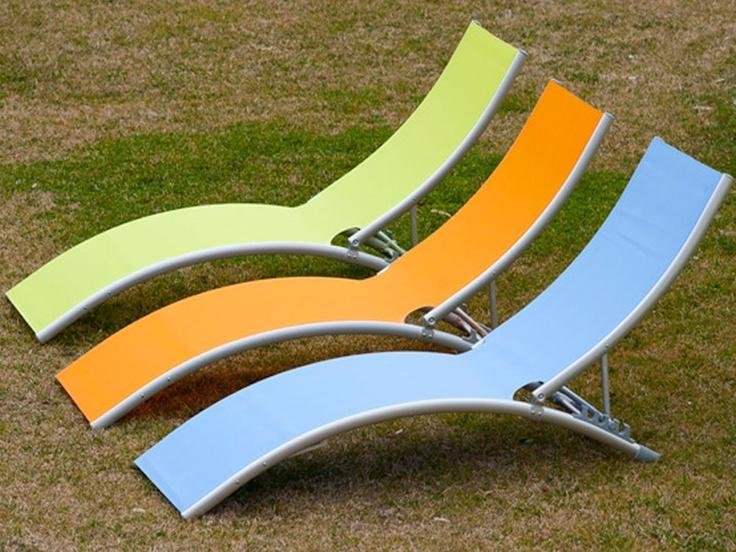 Tumbona 4 posiciones verde #jardin #relax