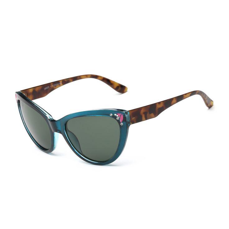 ORE Framed Cat-eye Sunglasses With Green-grey 51-millimeter Lenses and Tortoiseshell Arms, Men's