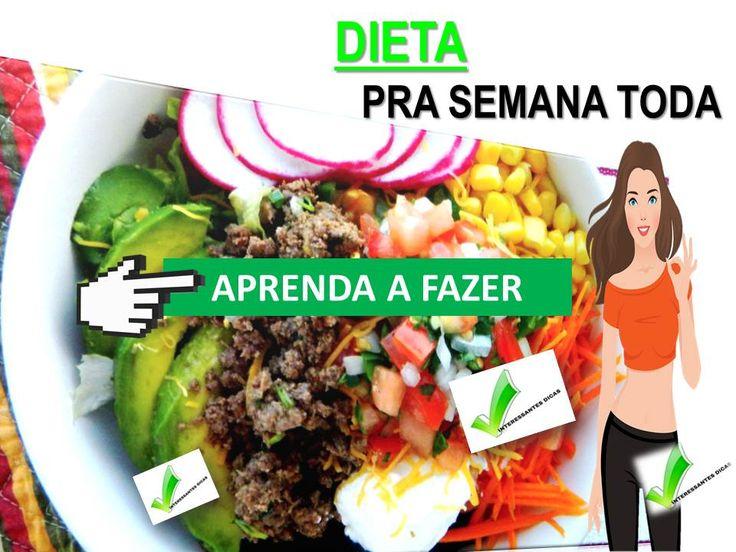 Cardápios Para Quem quer fazer dieta ! Aprenda a fazer com quem sabe , clica lá ! #food #diet
