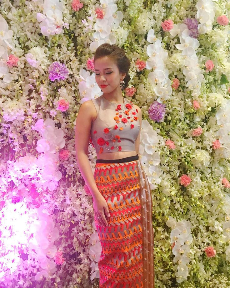 17 Best Images About Burmese Wed Dress On Pinterest