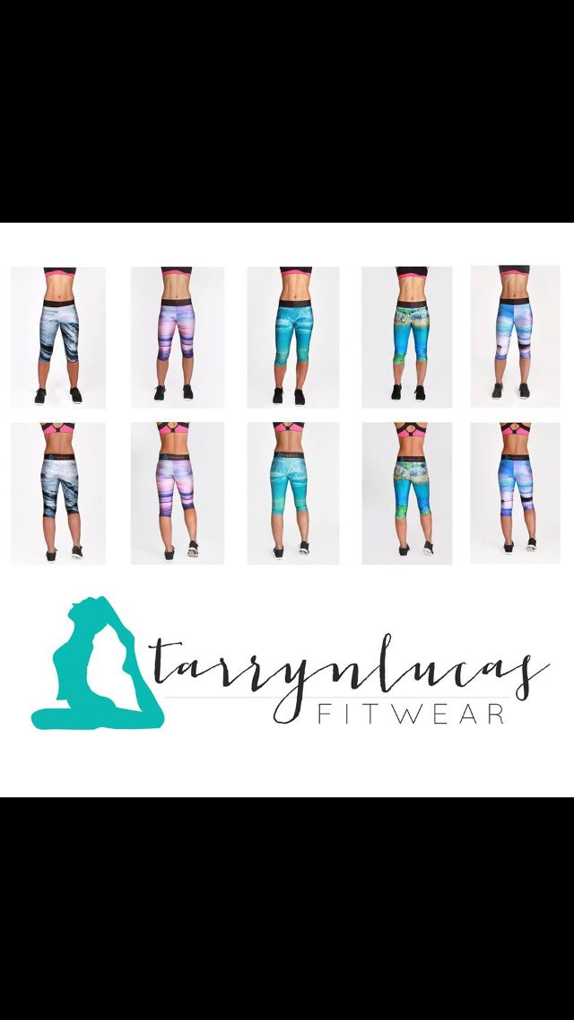 Tarryn Lucas Fitwear.   Images of the South Coast of NSW sublimated directly onto workout gear!  Available for $44.95 at www.tarrynlucas.com with FREE Australia wide postage.