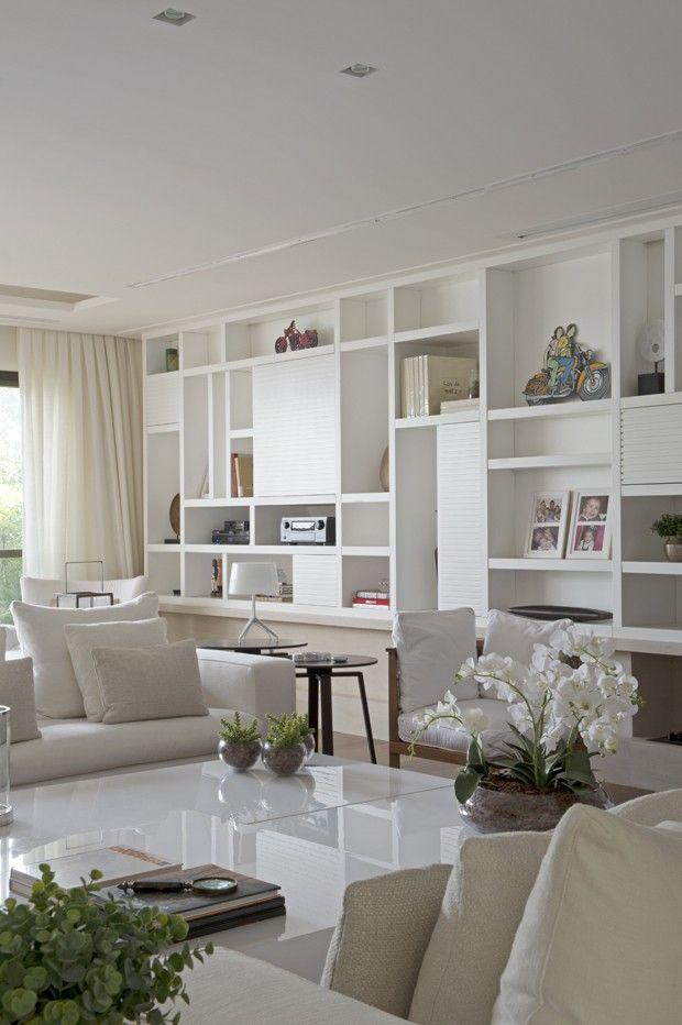 Apartamento em tons suaves - Cristina Lembi (Foto: Marcelo Magnani)