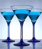 Blue Signature Drink (alcoholic)