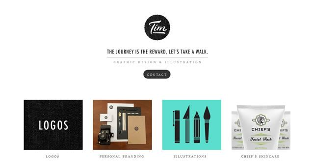40 Online website design portfolios. The tips are worthwhile for anyone building an online portfolio.