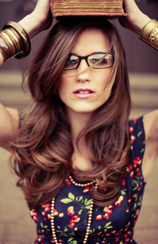 Love her hair. And her Geek Chic Styler!