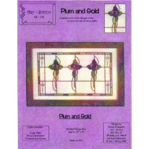 """""""Plum and Gold (AS-155)"""" by Karen Bourgaize (2004), Chorale Bel Canto Soprano"""