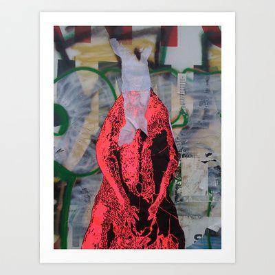 Kangaroo 2 Art Print by Plasmodi - $14.50