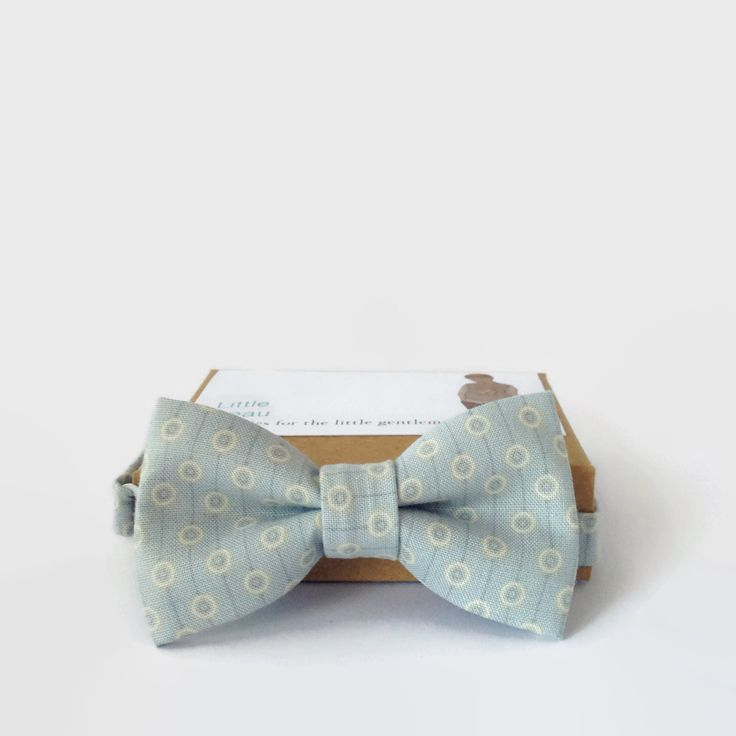 Bow Tie by My Little Beau on Etsy $35.00