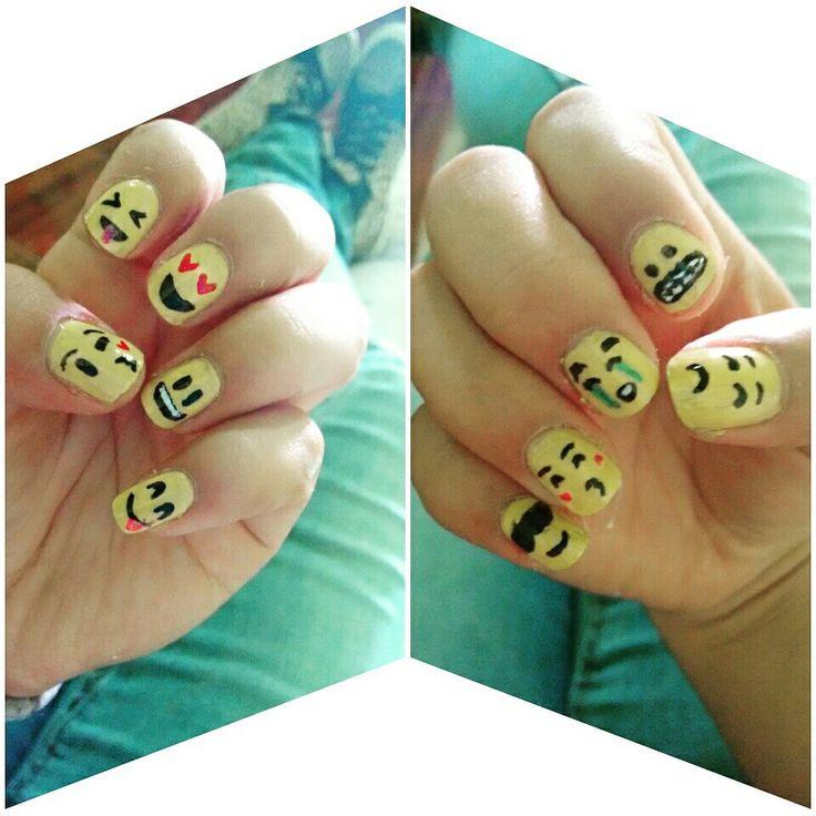 #emojis #uñas