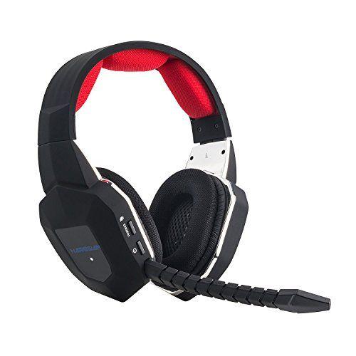 EasySMX [ Dernière 2.4Ghz Micro-Casque Sans Fil pour xbox 360/xbox One/PS4/PS3/PC ] Multi-Fonctionnels Console Casque Stéréo sans fil Gamer…