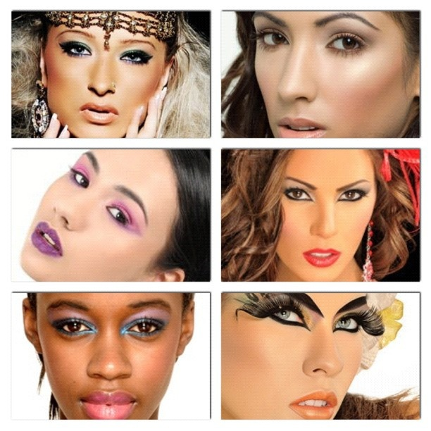#instacollage #eyecandy #makeup #beauty #hot #models #sexy #glamour