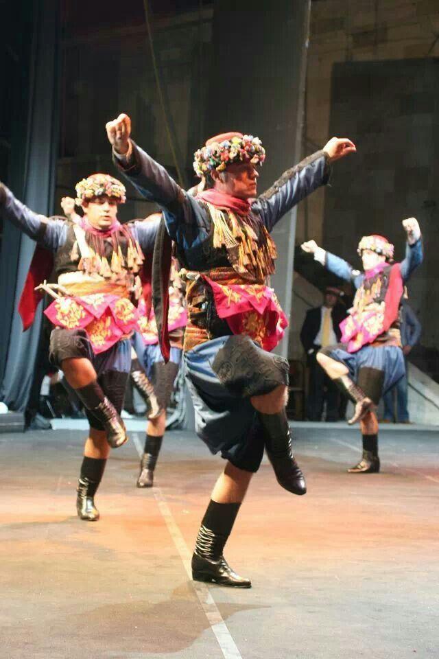 Zeybek, the folkloric dance of the Aegean Turkey.