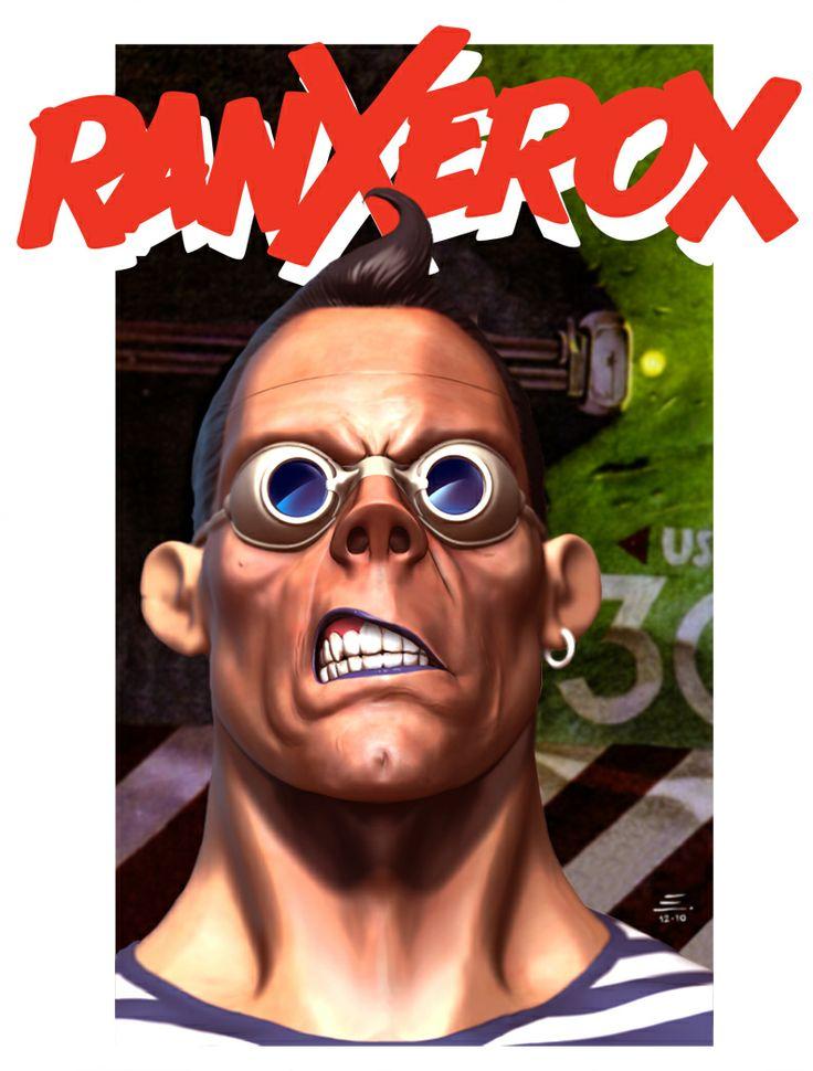 ILUSTRAS DO EDU: Ranxerox