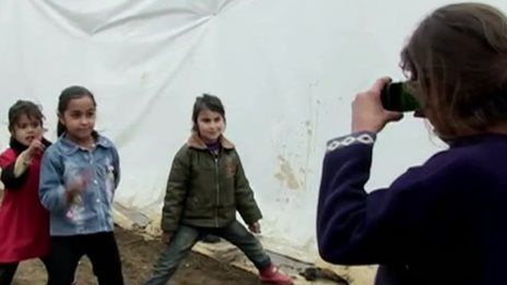Syrian children photograph lives