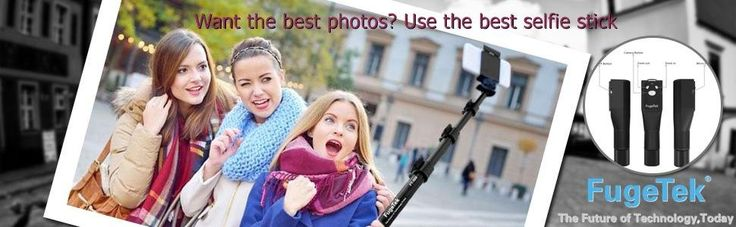 Fugetek FT-568 RATED #1 PROFESSIONAL SELFIE STICK ON AMAZON in 2016. Black, All Aluminum, High End, Luxurious Design - Doesn't look cheap! #selfie #selfiestick http://levisatamazon.wix.com/selfie-stick