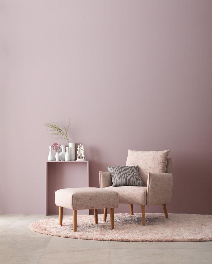 Elegantes Puderrosa Schoner Wohnen Farbe Schonerwohnen Elegantes Puderrosa Schoner Wohnen Farbe In 2020 Home Decor Living Room Colors House Interior
