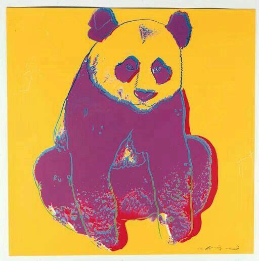 Andy Warhol ( Artist ), Giant Panda , 1983