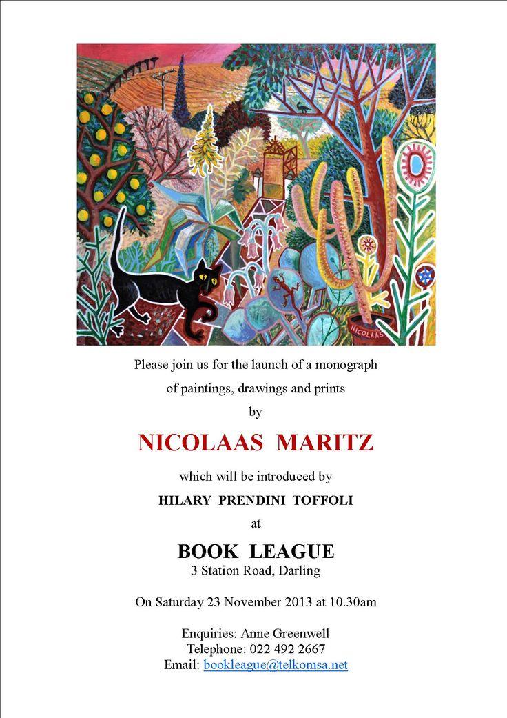 BOOK LEAGUE, Darling,  book launch invitation