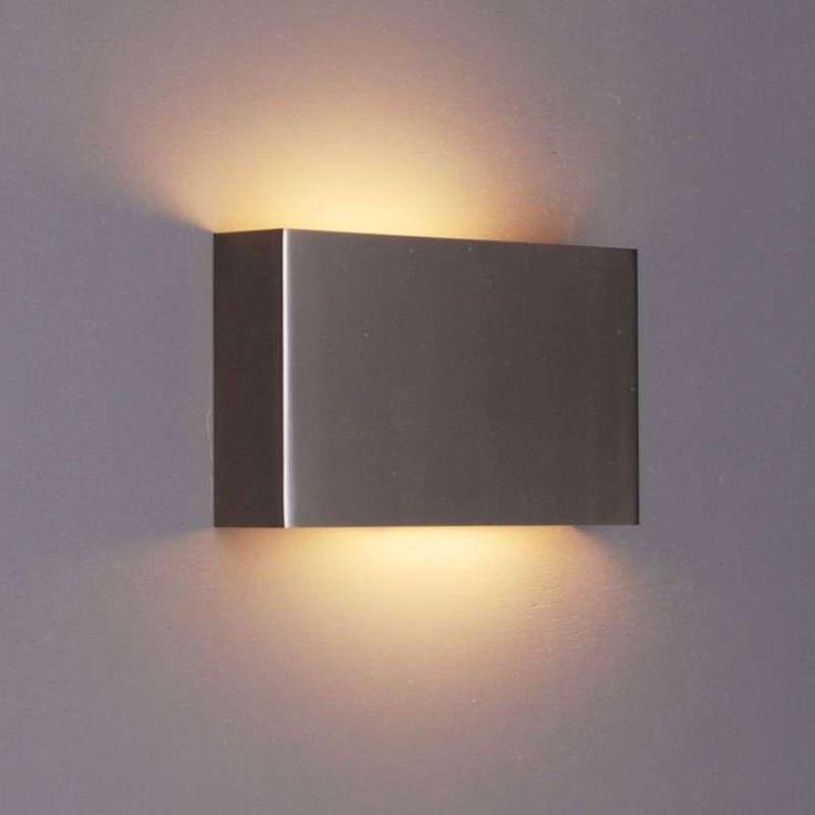 Wall lamp Otan steel - lampandlight.co.uk £47.50