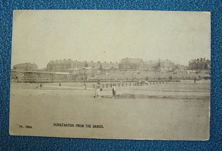 Hunstanton from the Sands - c1910 | eBay
