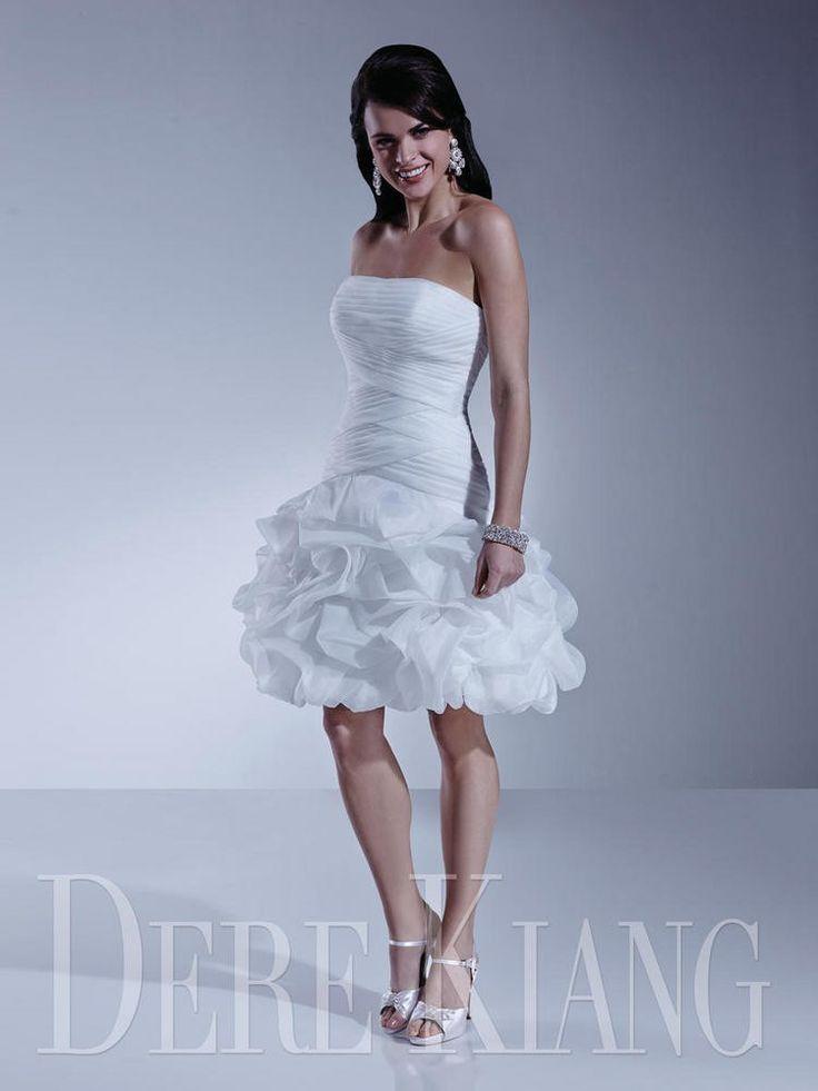 11143 dere kiang bridal wedding_dresses bride bridal_gowns short simple lovely