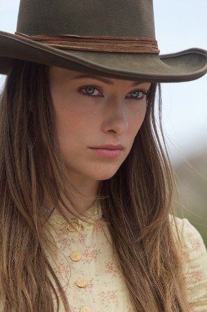 Olivia WildeCowboy Hats in Cowboys and Aliens Movie