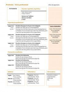 curriculum-vitae-modelo4a-naranja