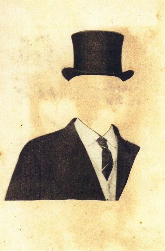 DaDa. Collage print  This immediately reminded me of Magritte! LOVE!