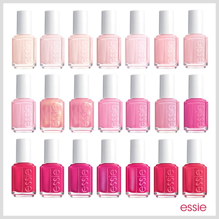 There's A Pink For Everyone. - Essie
