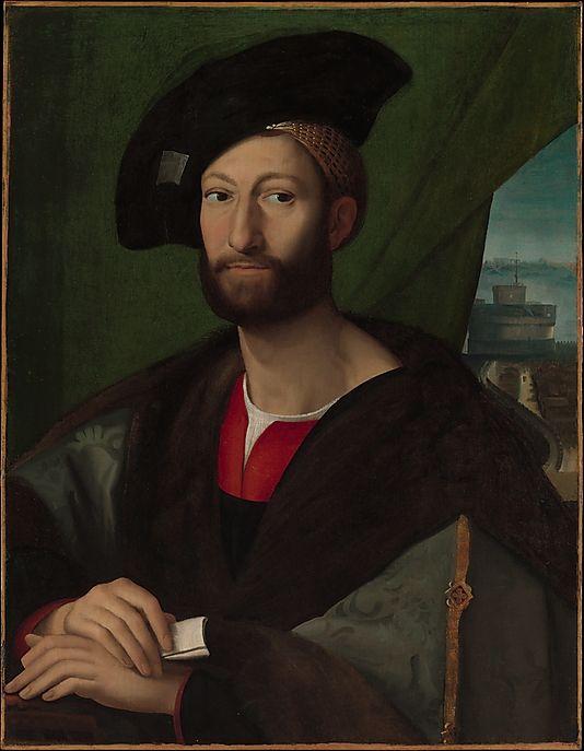 Giuliano de' Medici (1479–1516), Duke of Nemours / Copy after Raphael
