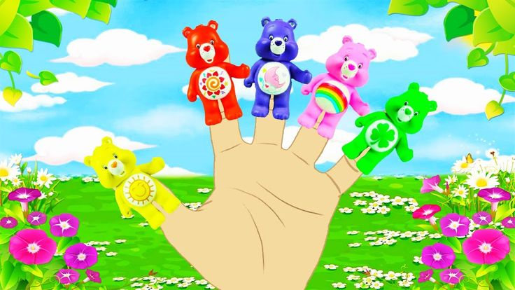 Care Bears English Finger Family Song Collection For Kids