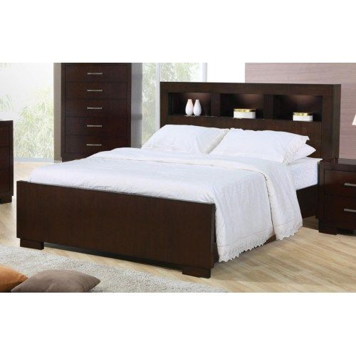 Coaster Jessica King Contemporary Bed With Storage